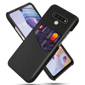 Luxury Leather Wallet Card Holder Phone Shockproof Case Cover For LG Stylo 6
