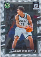 Malcolm Brogdon 2017-18 Donruss Optic 2nd Year Chrome Card #83 Milwaukee Bucks