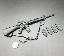 "1:6 BBI USMC ""Sallas"" M16 Rifle w/ Ammo Mags 12"" GI Joe Dragon DamToy"