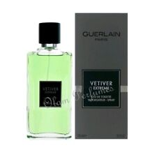 Vetiver Extreme by Guerlain Eau de Toilette Spray 3.4oz 100ml * New in Box *