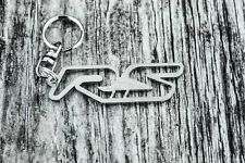 RS keychain for Renault clio megane sport automotive accessory