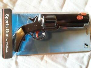 PSVR PSMOVE GUN ATTACHMENT (BLACK) PS4/PS3 CONTROLLER