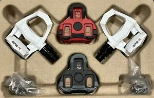 Exustar Carbon clip in Road Bike Pedals light! 2 Pairs of LOOK Keo style cleats