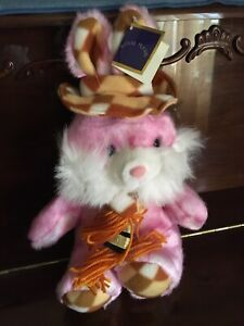 Royal Plush Pink Stuffed Bunny Rabbit Toy