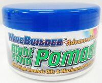 WAVE BUILDER NIGHT FORM POMADE WORKS WITH DURAG OR WAVE CAP @ NIGHT TIME 3.5oz