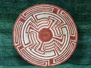 "13"" - 15"" Inches Handmade Hand-Woven Southwestern Design Basket SZM-203"
