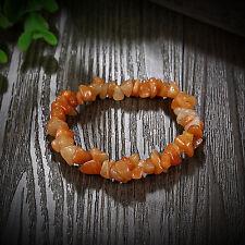 Natural Stone Gemstone Chip Bead Stretchy Bracelet Bangle Jewelry