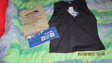 TRESPASS SURF GEAR, navy sporty tank top, size medium, 92% cotton, 8% lycra, new