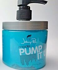 1 Johnny B. MODE Authentic Hair Styling Gel Extra Firm With PUMP 16 Oz