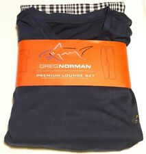 NEW Greg Norman Men's Premium V-Neck and Pants Lounge Set Size XL