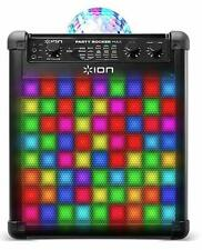 Karaoke Anlage ION Audio Party Rocker Max Bluetooth Mikrofon Black unvollständig