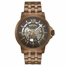 Kenneth Cole New York Men's Brown Stainless Steel Automatic Watch KC50779007