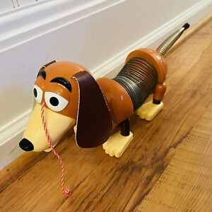 """Toy Story SLINKY DOG Collectors Edition POOF SLINKY INC Pull Toy 23"""" Wiener Dog"""