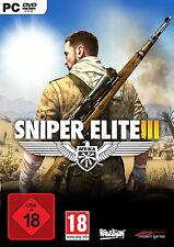 Sniper Elite III - Afrika (PC, 2014, DVD-Box)
