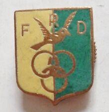insigne FRD FOOTBALL CLUB ASSOCIATION SPORTIVE F.D. émail ORIGINAL France