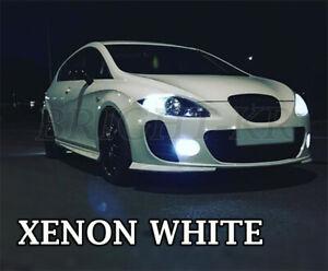 FOR SEAT LEON MK2 CANBUS SMD LED Fog Light Bulbs - XENON 6000K WHITE