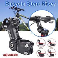 Adjustable MTB Mountain Bike Stem Road Bicycle Handlebar Fork Riser 25.4/31.8mm^