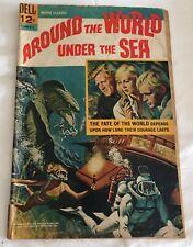 Dell Movie Classic Around The World Under The Sea Silver Age Comic 12c 1966