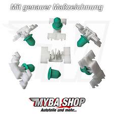 20x BARRE ornamentali parentesi fissaggio klips con annodate per BMW 3er e36 51131960054