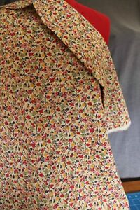 Remnant Poly/Cotton Fabric 1.50mtr x 140cm  - Small Floral Print R450