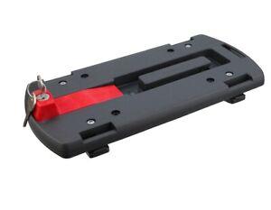 KLICKfix Zubehör GTA Adapter Gepäckträger-Adapterplatte  Korbadapter  schwarz