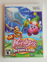 Kirby's Return to Dream Land Game Complete! Nintendo Wii