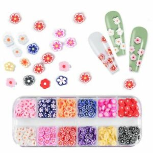 3D Acrylic Flower Flake Sequin Jewelry Polish Nail Art Nail Manicure Accessories