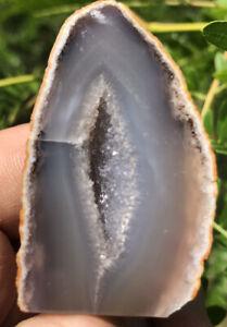 ☘️RR⚒: Druzy Polished Brazilian Agate