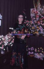 NANA MOUSKOURI 70s DIAPOSITIVE DE PRESSE ORIGINAL VINTAGE SLIDE #40