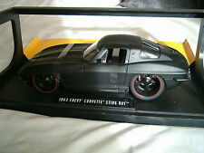 1/18 CHEVROLET CORVETTE CHEVY 1963 STINGRAY JADA NOIRE