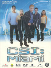 CSI MIAMI - 3 DVD - SEIZOEN 1 - AFL. 1.13 - 1.24  - NEW
