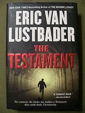 ERIC VAN LUSTBADER THE TESTAMENT 2006 HC FIRST EDITION SEPTEMBER 2006