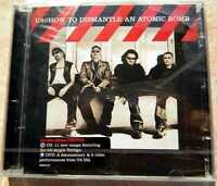U2 HOW TO DISMANTLE AN ATOMIC BOMB CD + DVD NUOVO NEW