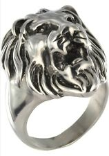 Stainless Steel Gothic Lion 10153 GR72 22.9mm
