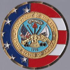 "Camp Humphreys Eagle Long Area III Korea Commander Challenge Coin 2"" DIA"