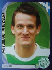Panini 124 Jan Vennegoor of Hesselink Celtic FC UEFA CL 2007/08
