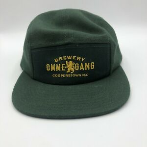 Ommegang Brewery Cooperstown NY Strapback Hat Cap Green