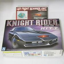 【NEW】Knight Rider Season Three K.I.T.T. + LED Front Scanner Red 1/24 Aoshima