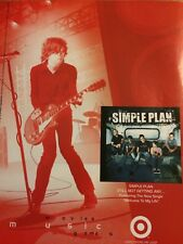 Simple Plan, Still Not Getting Any, Full Page Promotional Ad