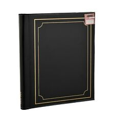 ARPAN Deluxe Gold Stamp Cover Large 20 Sheet Self Adhesive Magnetic Page Photo