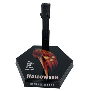 1/6 Scale Action Figure Stand Display Box Halloween Michael Myers
