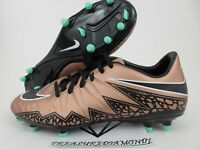Nike Hypervenom Phelon II FG 2 Men Soccer Cleats SZ 9 Football Bronze 749896-903