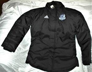 Tampa Bay Lighting winter parka coat NEW! men's medium 2020 Stanley Cup patch