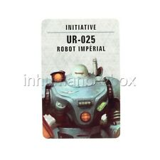 BF076 CARTE INITIATIVE ROBOT UR - 025 BLACKSTONE FORTRESS WARHAMMER 40000 BITZ