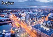 BELFAST NORTHERN IRELAND TRAVEL SOUVENIR FRIDGE MAGNET 1 #fm33