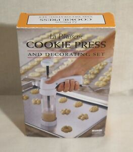 La Patisserie Cookie Press And Decorating Set Item #2460 Kuhn
