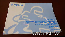 manuel du proprietaire  YAMAHA TDM 900 - 2004 - TBE - GERMAN LUNGUAGE