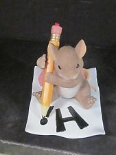 Charming Tails JUST WANTED TO SAY HI 89/179 Mouse Pencil Ladybug