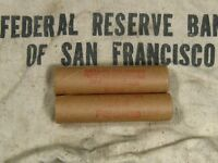 (ONE) FRB SF Salt Lake Branch Indian Head Penny Roll 50 Cents - 1859 1909