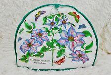 Portmeirion Botanic Garden Tea Cosy Fabric Cover Clematis Florida Virgins Bower